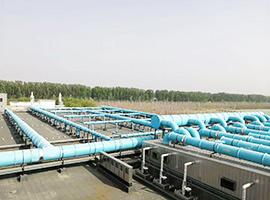 北京通州污水处理厂生物滤池除臭项目
