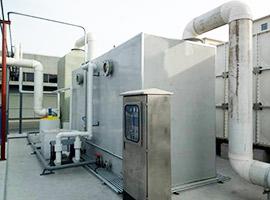 东北敦化污水处理厂生物滤池除臭项目