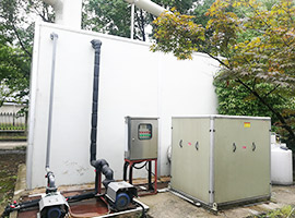 光大水务(无锡)污水处理厂生物滤池除臭项目