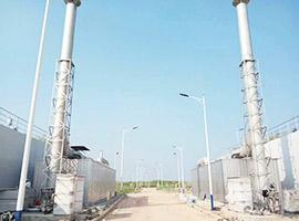 江苏淮安市污水处理厂生物滤池除臭项目