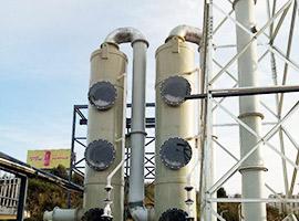 湖北红牛污水站洗涤塔除臭项目
