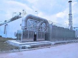 福建三明污水处理厂生物滤池除臭项目