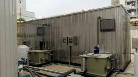 广东谢岗污水处理厂生物滤池除臭项目