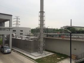 中海油常州涂料化工研究院废气除臭项目