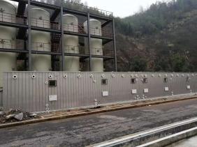 浙江海正药业污水站生物滤池除臭项目