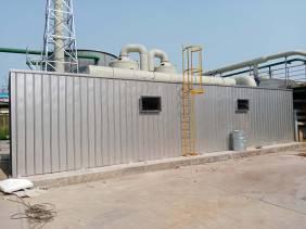 孟州市鼎兴化工生物滤池除臭项目