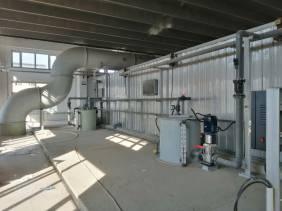 沈阳东部污水处理厂生物滤池除臭项目
