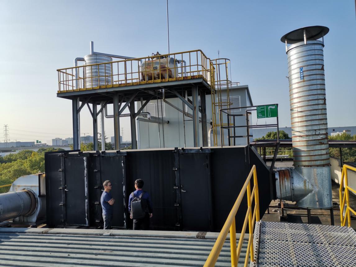 羿资讯 | 上海紫江某YQA活性炭吸附废气处理项目完工稿