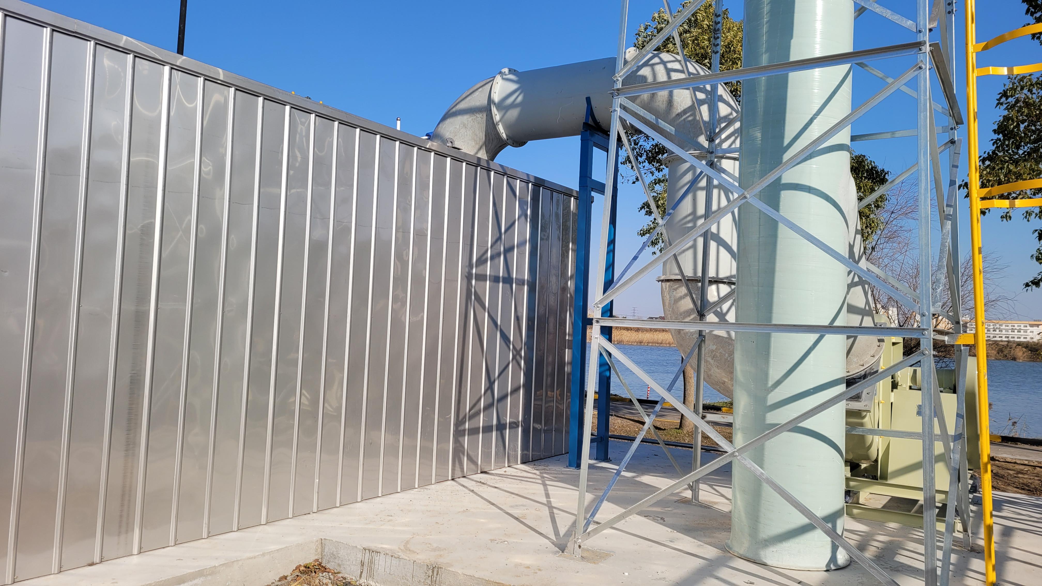 污水厂生物滤池除臭运行参数