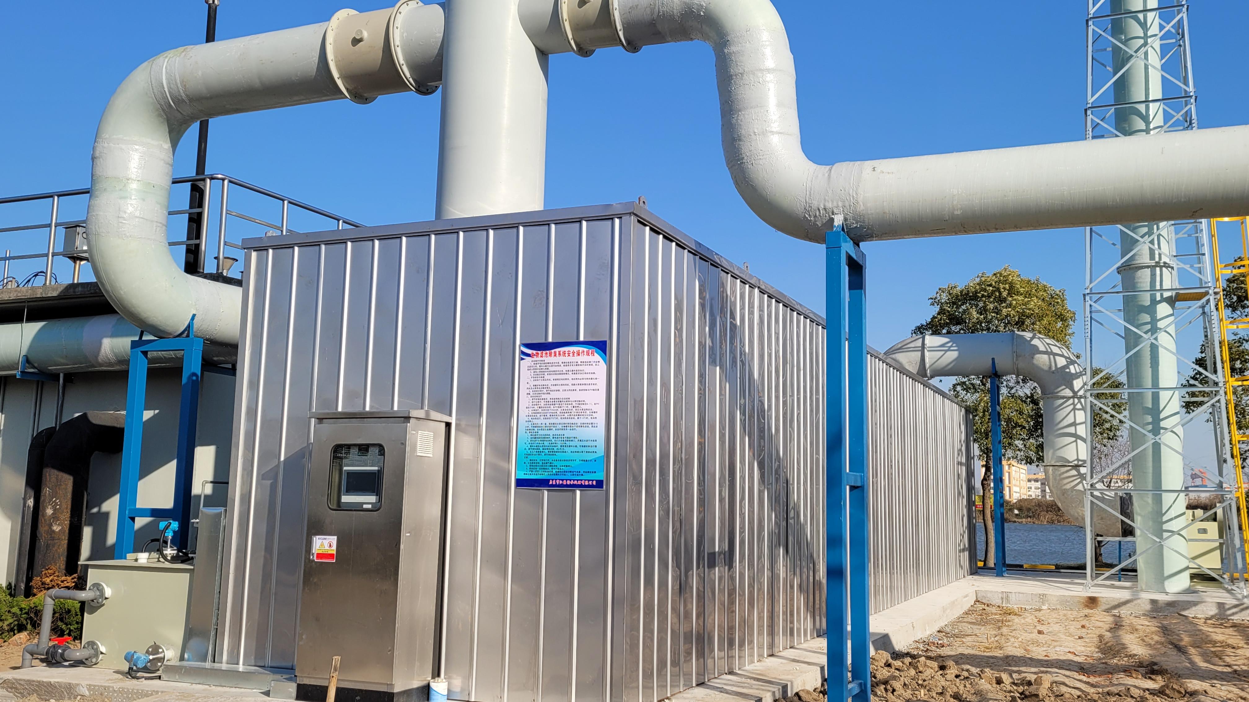 污水厂生物滤池除臭关键影响因素