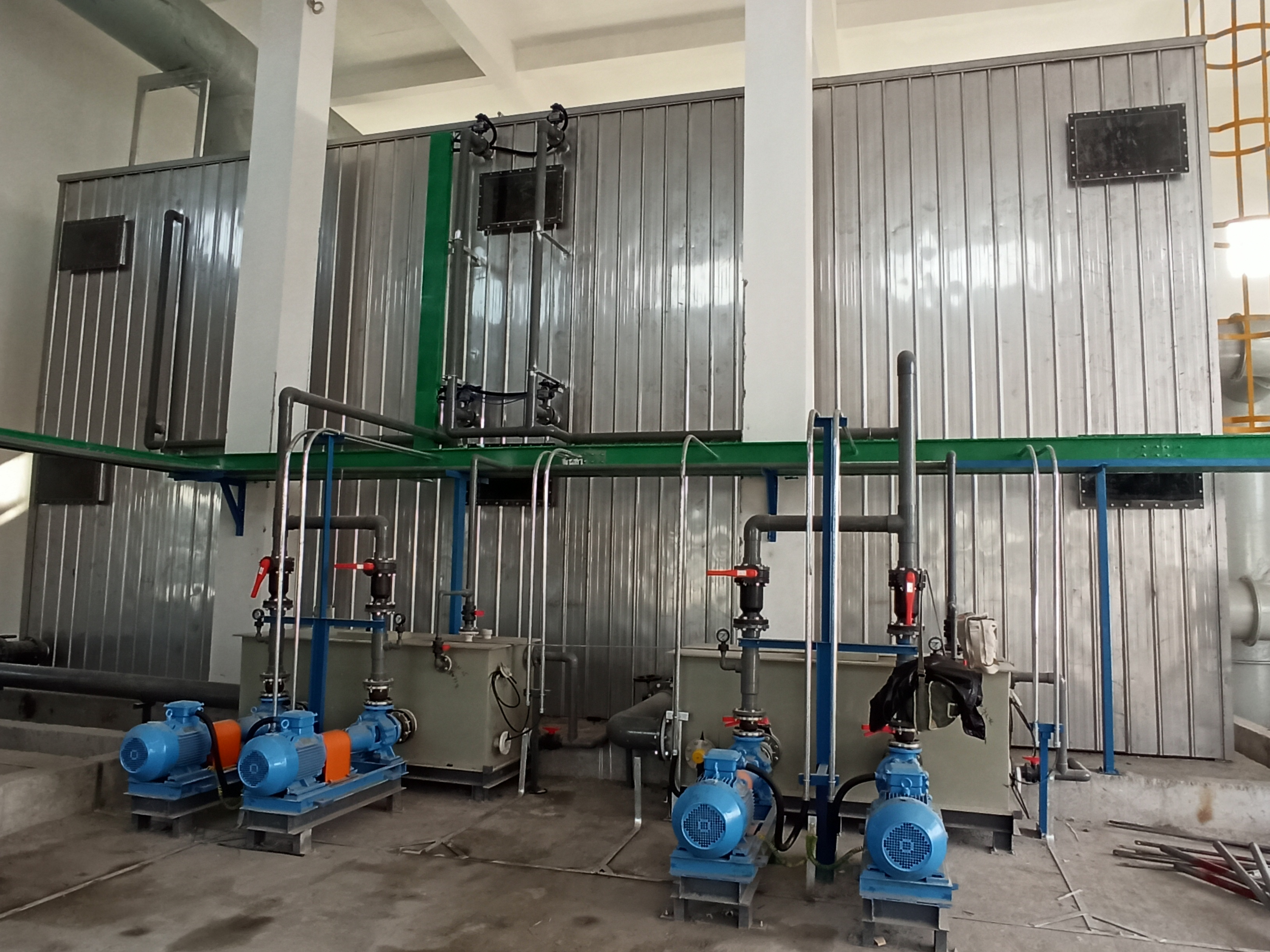 安徽昊源化工污水站除臭生物滤池项目