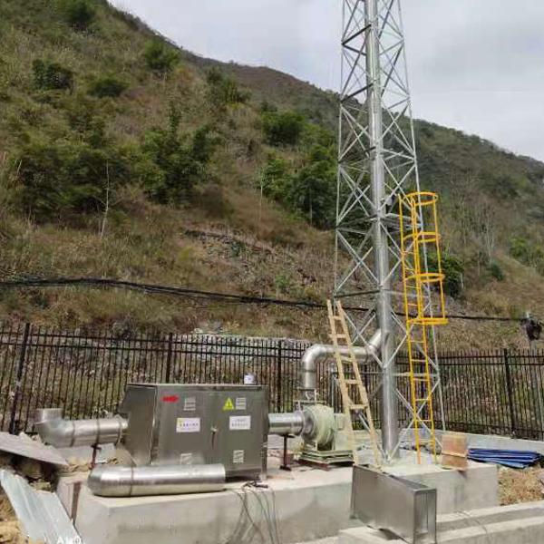 广西乐业污水站除臭项目