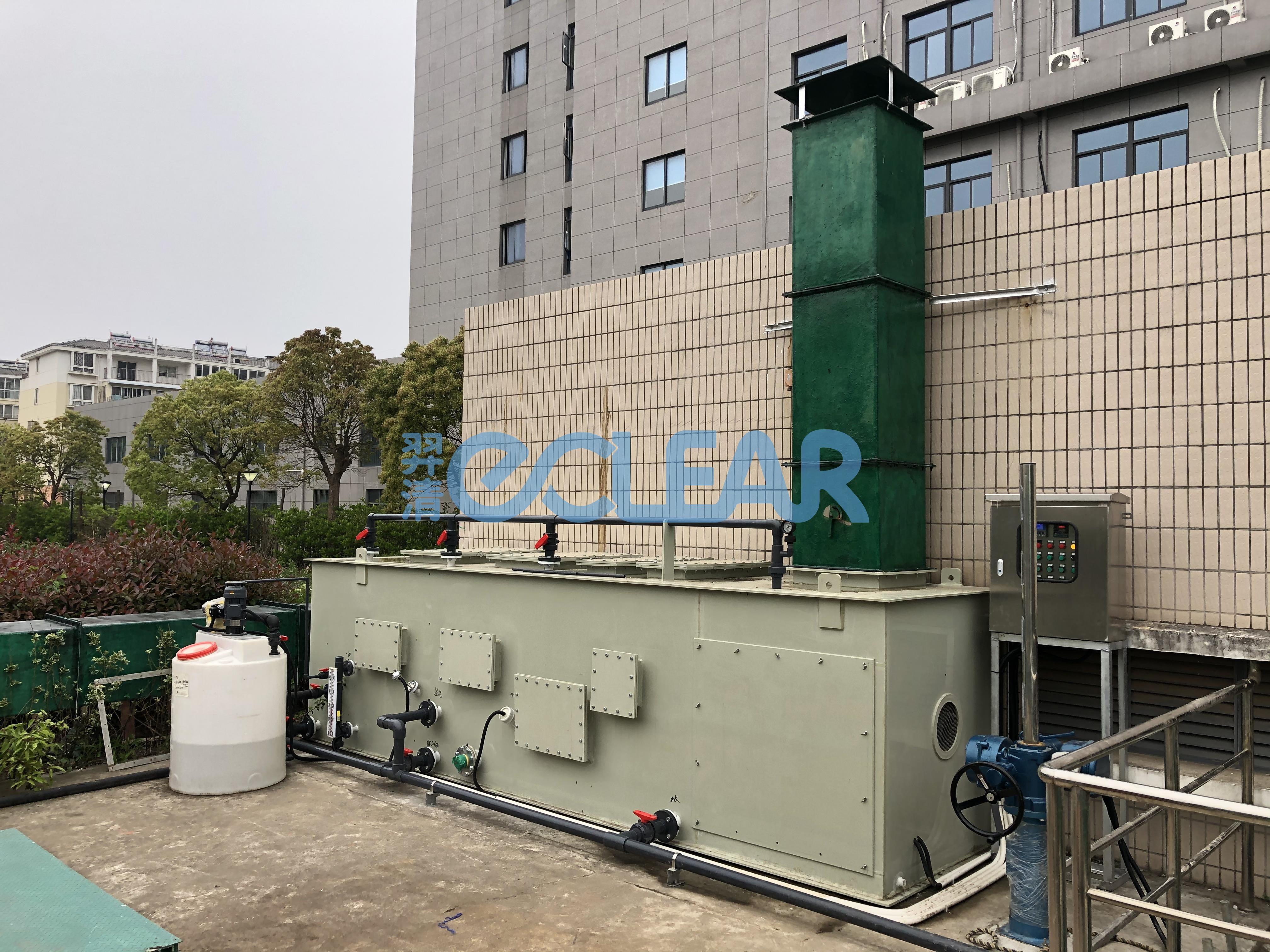 江苏启东市某污水泵站除臭设备